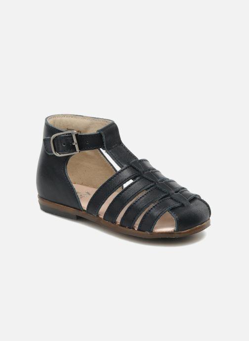 Sandales et nu-pieds Little Mary Jules Bleu vue détail/paire