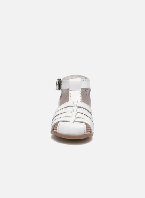 Sandalias Little Mary Jules Blanco vista del modelo