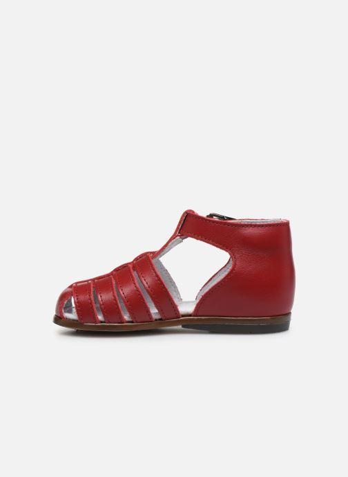 Sandales et nu-pieds Little Mary Jules Bordeaux vue face