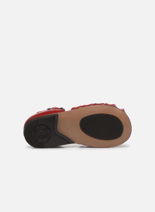 Sandales et nu-pieds Little Mary Jules Bordeaux vue haut