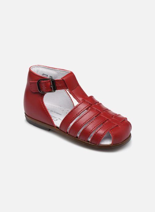 Sandales et nu-pieds Little Mary Jules Bordeaux vue détail/paire