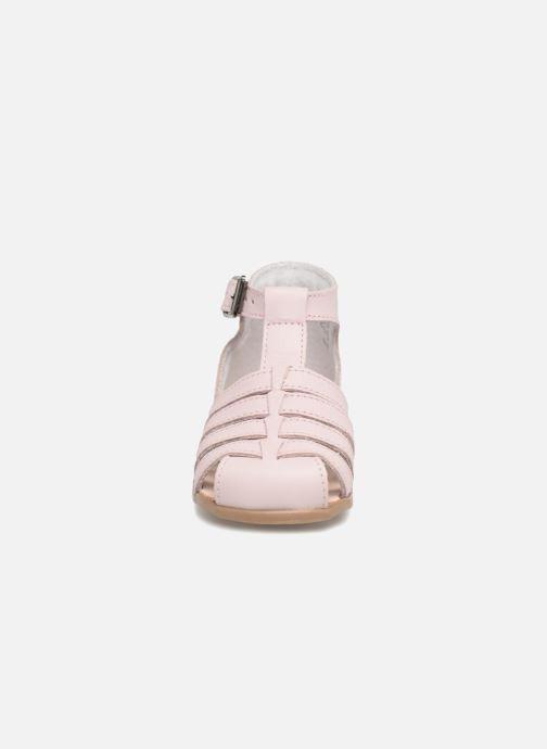 Sandales et nu-pieds Little Mary Jules Rose vue portées chaussures