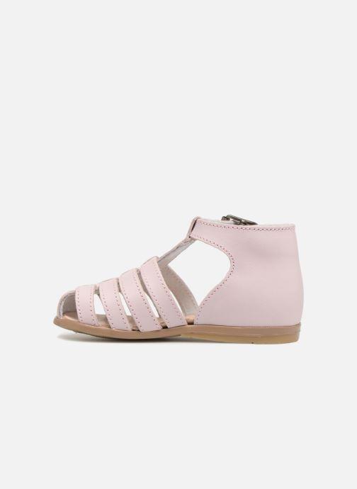 Sandales et nu-pieds Little Mary Jules Rose vue face