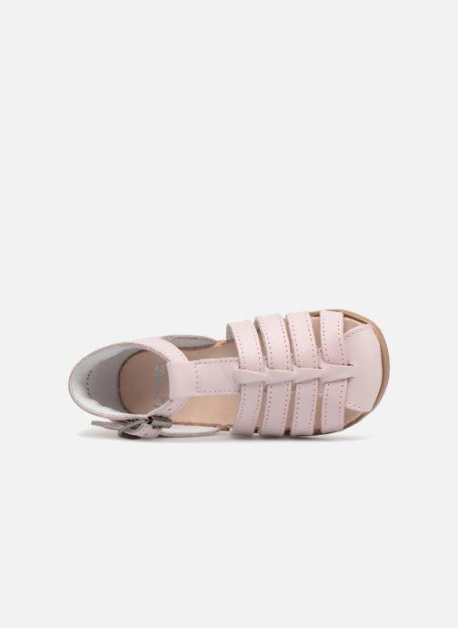 Sandales et nu-pieds Little Mary Jules Rose vue gauche