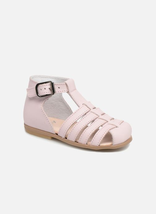 Sandals Little Mary Jules Pink detailed view/ Pair view