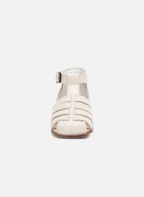 Sandales et nu-pieds Little Mary Jules Beige vue portées chaussures