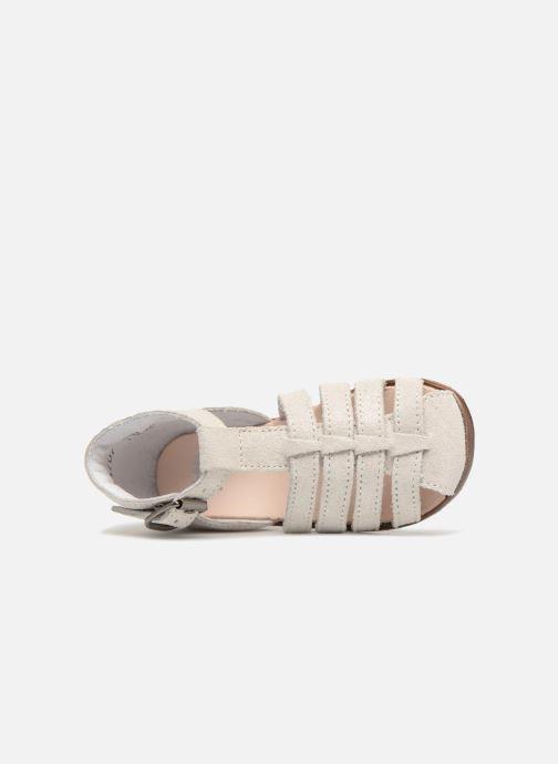 Sandales et nu-pieds Little Mary Jules Beige vue gauche