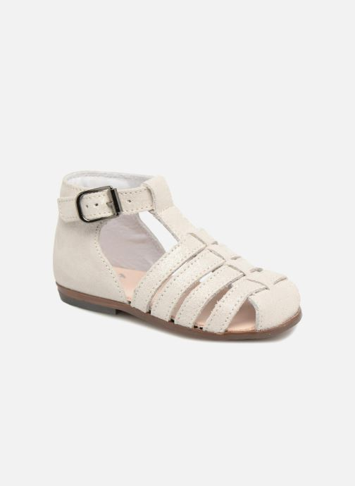 Sandals Little Mary Jules Beige detailed view/ Pair view