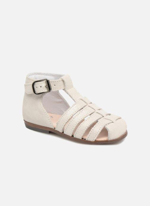 Sandales et nu-pieds Little Mary Jules Beige vue détail/paire