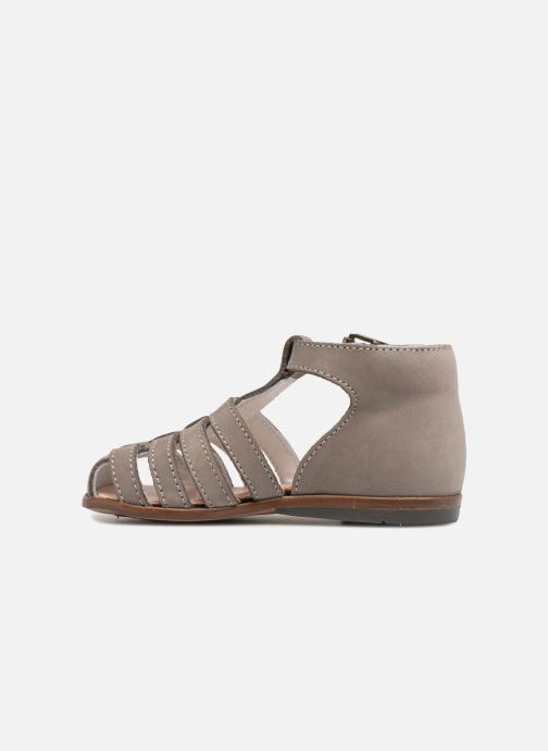 Sandalias Little Mary Jules Beige vista de frente
