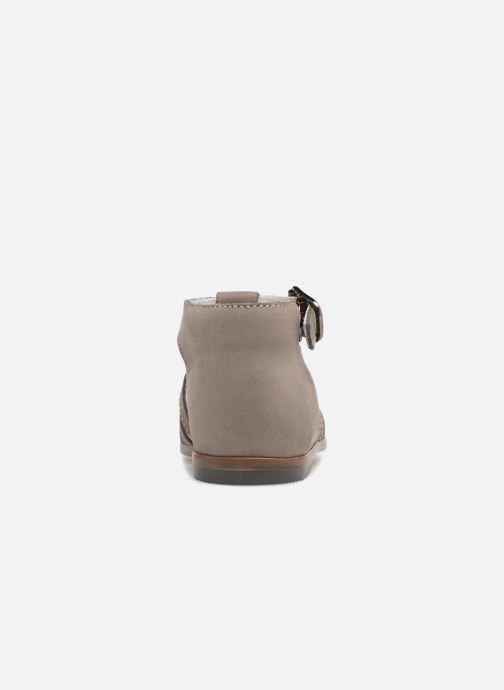 Sandalias Little Mary Jules Beige vista lateral derecha