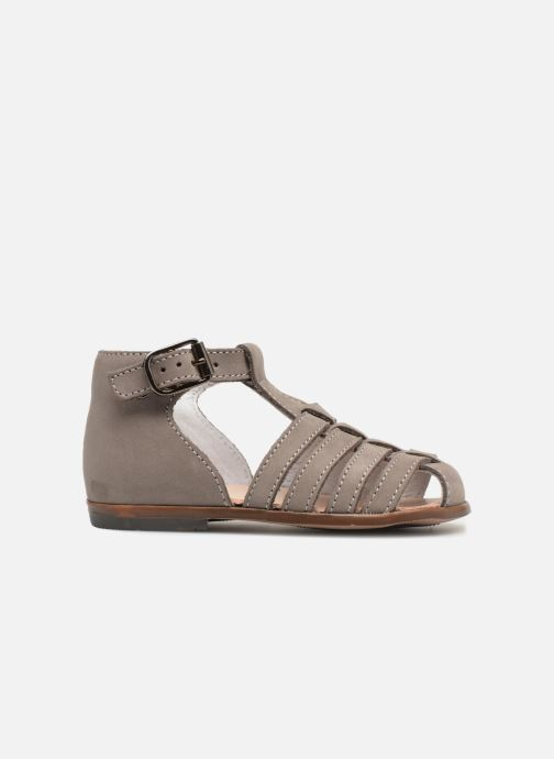 Sandalias Little Mary Jules Beige vistra trasera