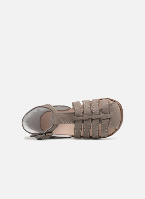 Sandalias Little Mary Jules Beige vista lateral izquierda