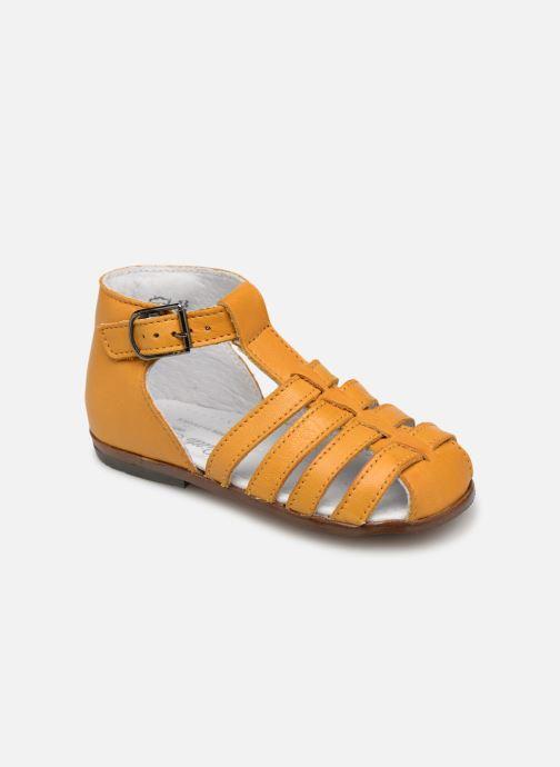 Sandales et nu-pieds Little Mary Jules Jaune vue détail/paire
