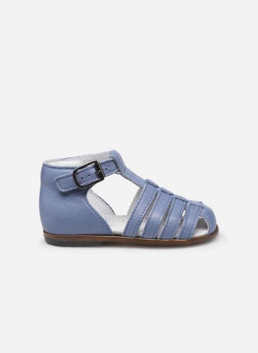 Sandales et nu-pieds Little Mary Jules Bleu vue derrière