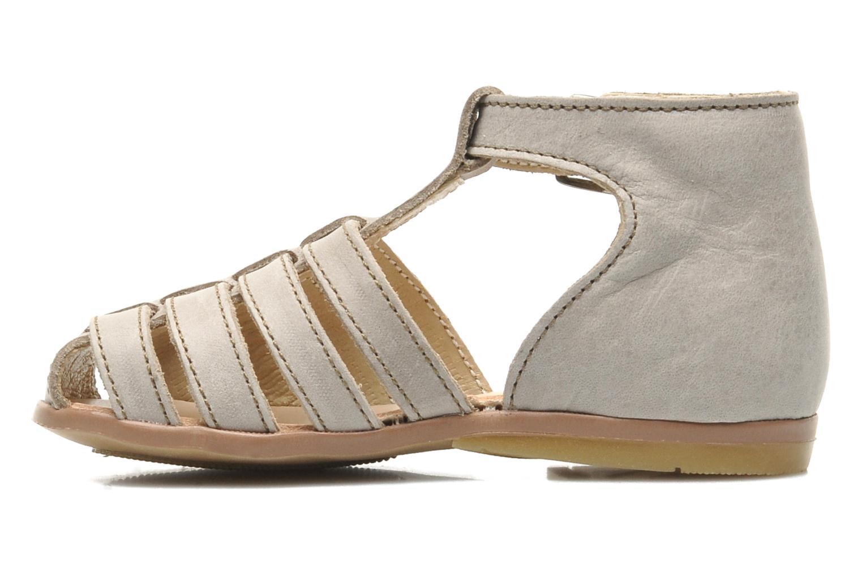 Sandales et nu-pieds Little Mary Jules Beige vue face