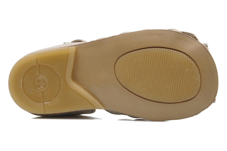 Sandales et nu-pieds Little Mary Jules Beige vue haut
