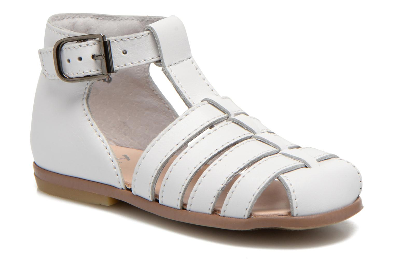 Sandales et nu-pieds Little Mary Jules Blanc vue détail/paire