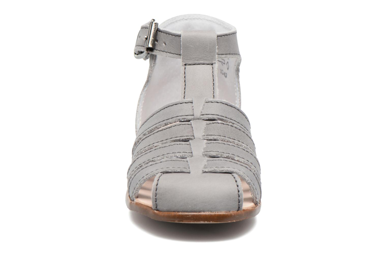 Sandales et nu-pieds Little Mary Jules Gris vue portées chaussures