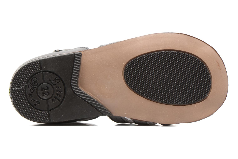 Sandales et nu-pieds Little Mary Jules Gris vue haut