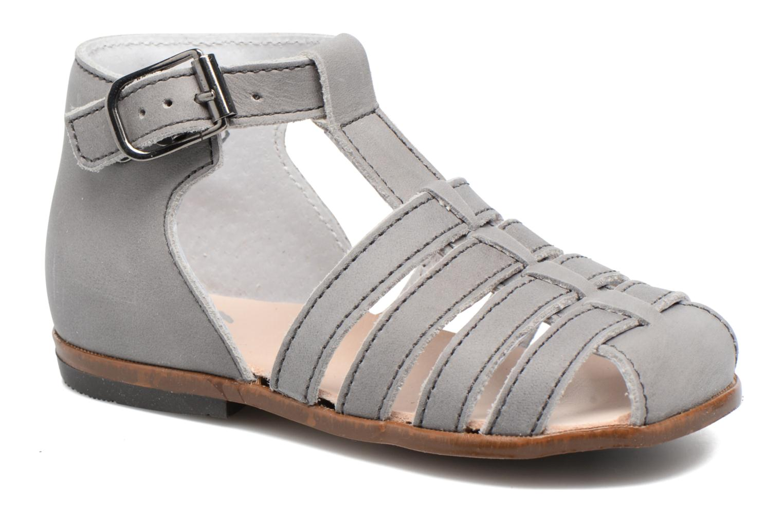 Sandales et nu-pieds Little Mary Jules Gris vue détail/paire