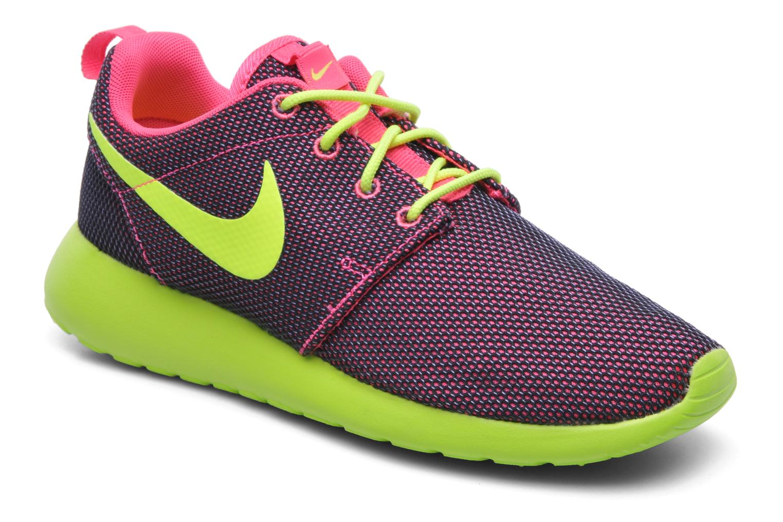 huge discount 29ffd 4823f Baskets Nike Wmns Nike Roshe One Rose vue détail paire