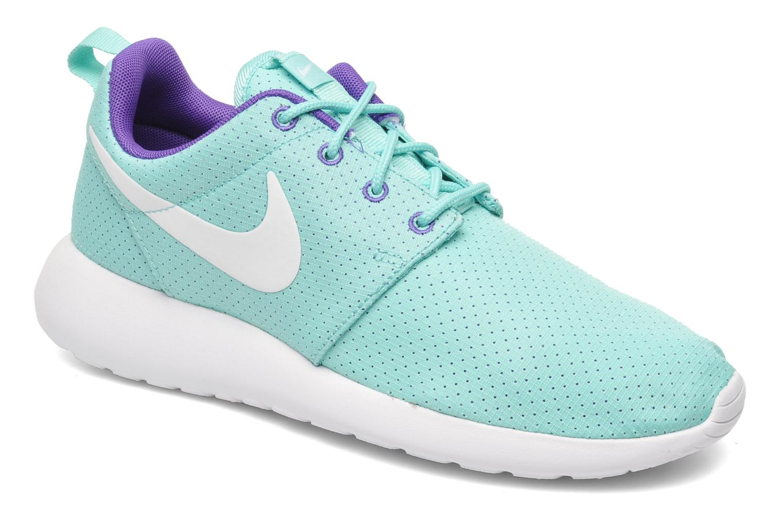 pretty nice b40a5 6c031 Baskets Nike Wmns Nike Roshe One Vert vue détail paire