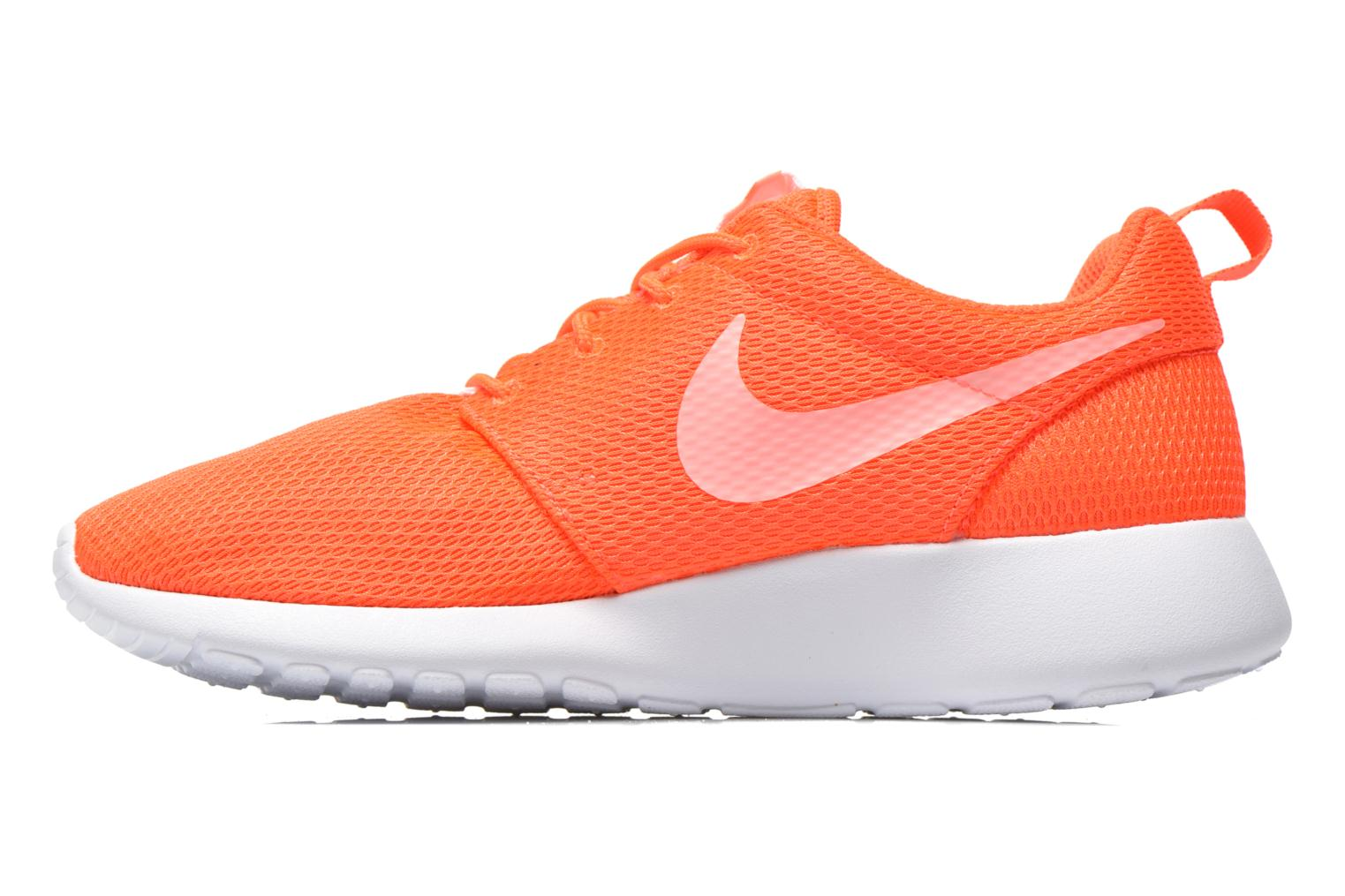 Baskets Nike Wmns Nike Roshe One Orange vue face