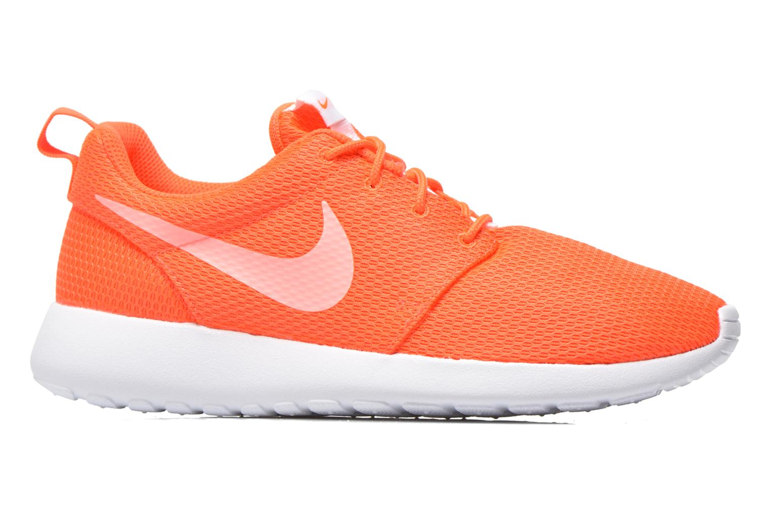 Baskets Nike Wmns Nike Roshe One Orange vue derrière