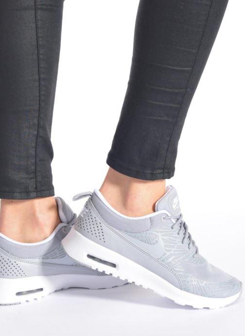 Sneaker Nike Wmns Nike Air Max Thea Print grau ansicht von unten / tasche getragen