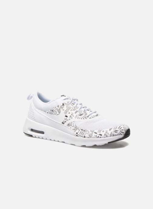 new product 9e140 bed06 Baskets Nike Wmns Nike Air Max Thea Print Blanc vue détail paire