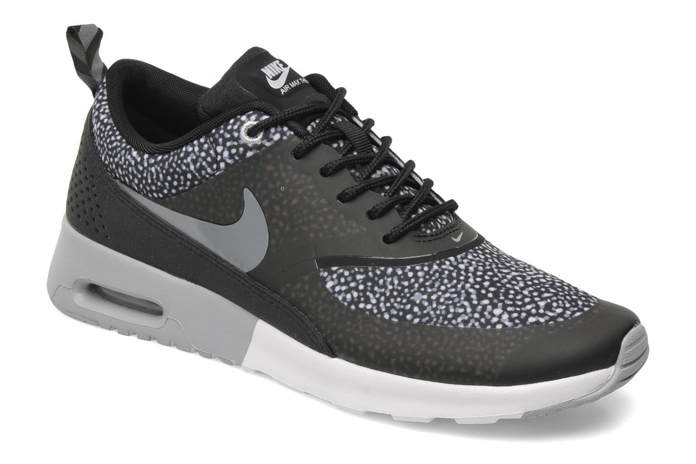 low priced a894f 13453 cheapest sneakers nike wmns nike air max thea print sort detaljeret billede  af skoene c93a6 af7c1