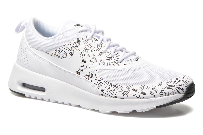 Nike Air Max Thea Textile Damesko HvidMetallic Platinum