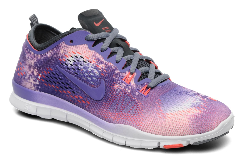 9e7a4af4607b ... reduced sportssko nike wmn nike free 5.0 tr fit 4 prt lilla detaljeret  billede af skoene