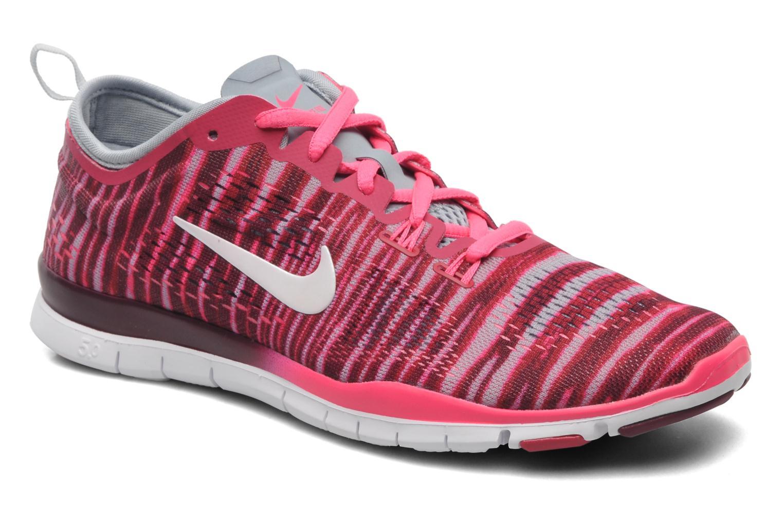 meilleures baskets ce2cc 8a57e Nike Wmn Nike Free 5.0 Tr Fit 4 Prt (Rouge) - Chaussures de ...