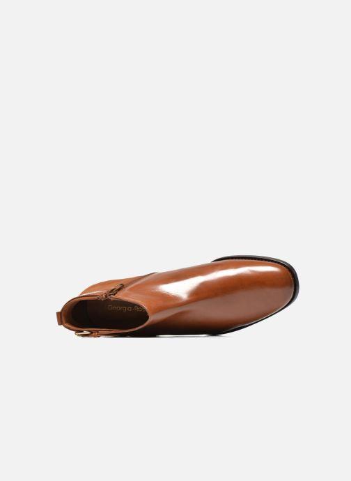 Bottines et boots Georgia Rose Tatouille Marron vue gauche