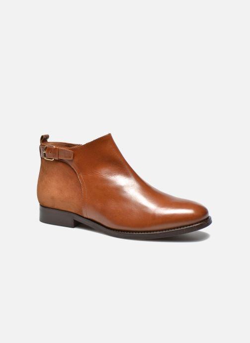 Bottines et boots Georgia Rose Tatouille Marron vue détail/paire