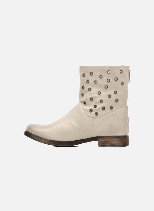 Ankle boots Khrio Bala Beige front view