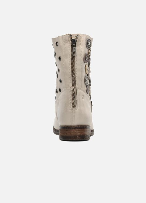 Ankle boots Khrio Bala Beige view from the right