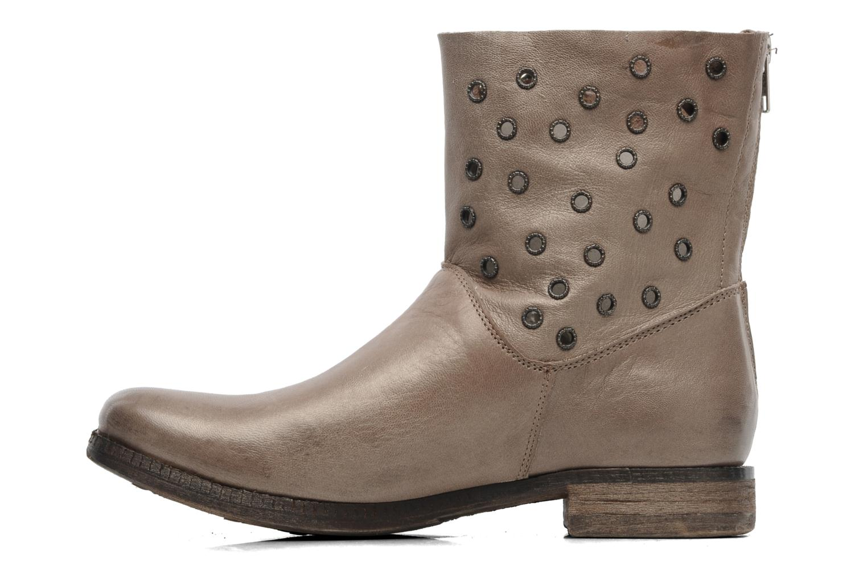 Bottines et boots Khrio Bala Beige vue face