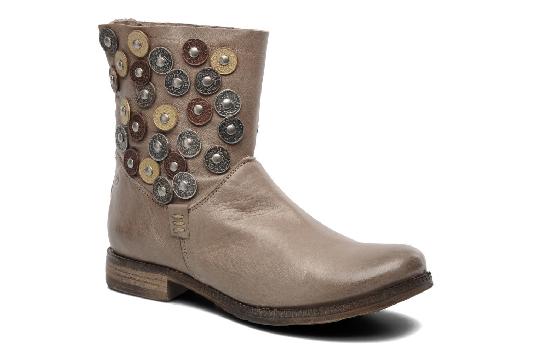 Bottines et boots Khrio Bala Beige vue détail/paire
