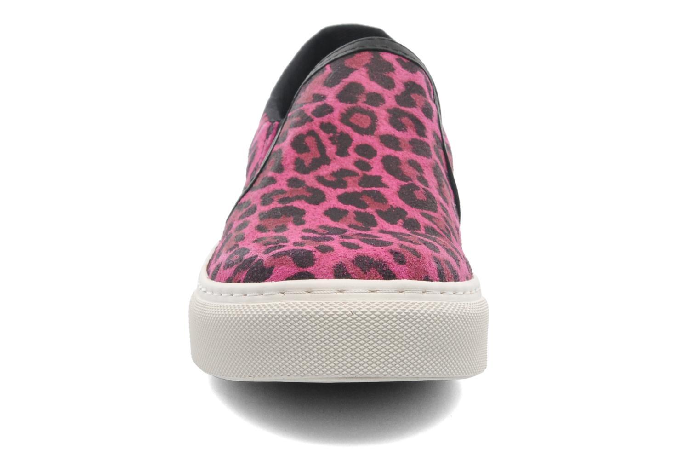 Baskets Bronx Del Rose vue portées chaussures