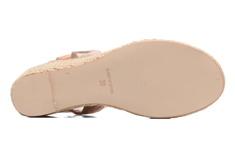 Sandales et nu-pieds Anna Volodia Jemeo Or et bronze vue haut