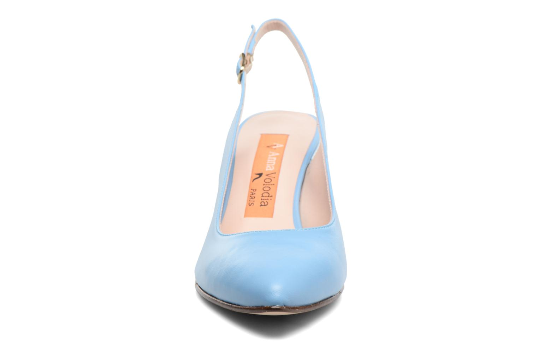 Escarpins Anna Volodia Mali Bleu vue portées chaussures