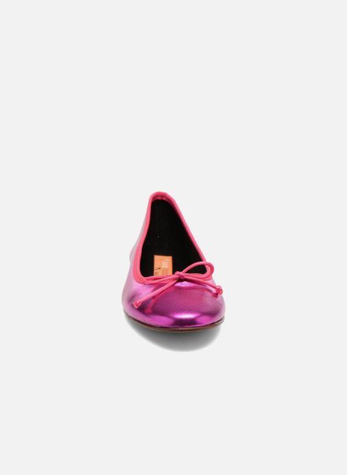 Ballerines Anna Volodia Luna Rose vue portées chaussures