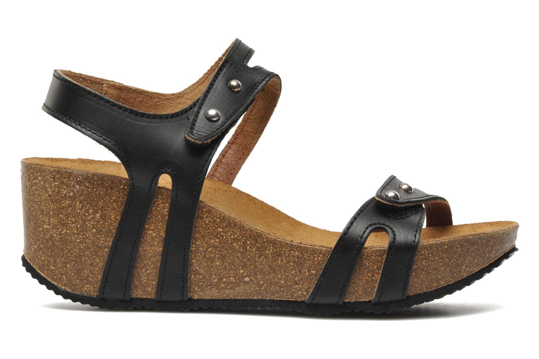 Sandales et nu-pieds Rondinaud Falleron Noir vue derrière