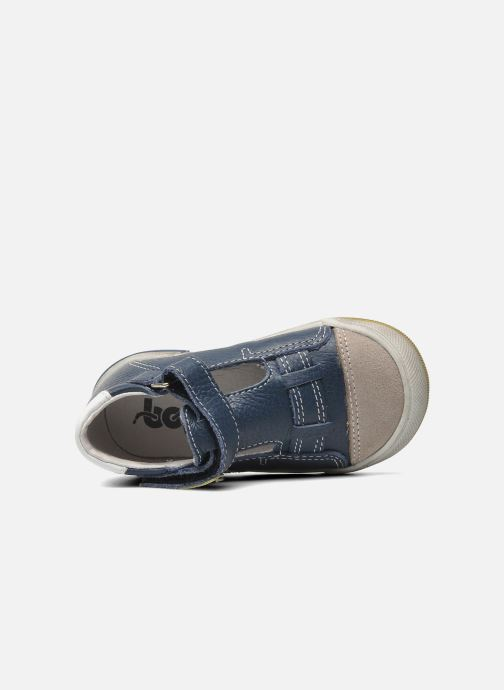 Velcro shoes Bopy BESSAT Blue view from the left