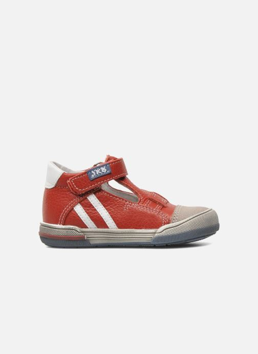 Velcro shoes Bopy BESSAT Red back view