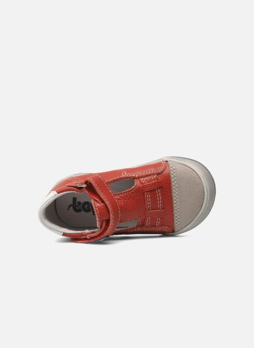 Velcro shoes Bopy BESSAT Red view from the left