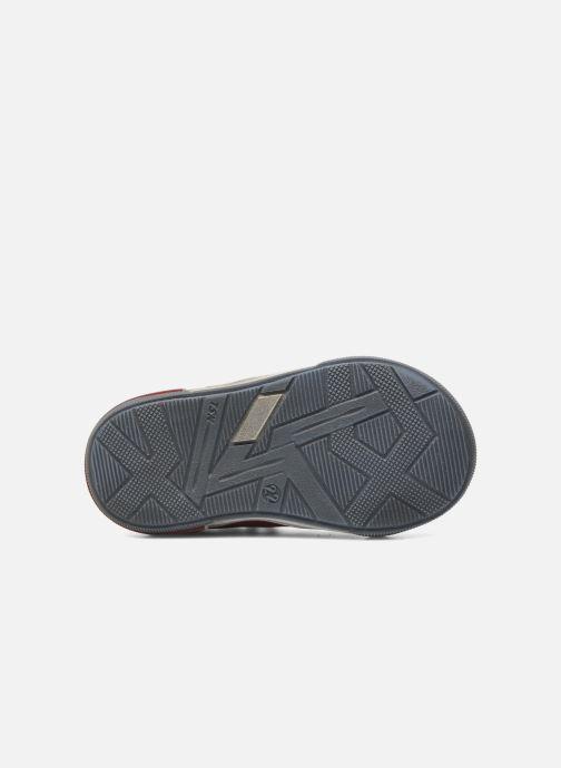 Zapatos con velcro Bopy BESSAT Rojo vista de arriba